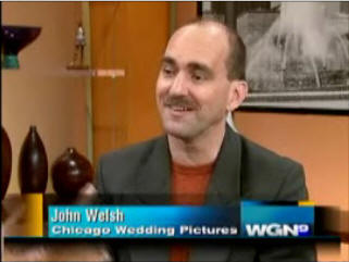Owner and founder John Welsh featured as the national photography expert on WGN news, Channel 9 in Chicago.